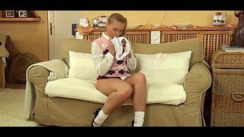 pantyhose blonde Kathia Nobili
