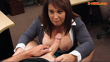 monstrous-chested cougar boned by crazy pawn.