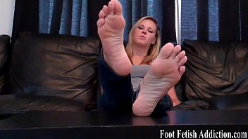You have a total foot fetish, don&rsquo_t you
