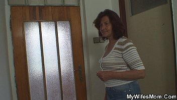 She gets shocked when finds mother inlaw riding his cock