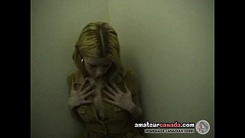 school-senior year aged teenie in elevator fingerblasting and.