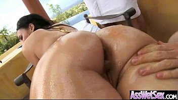 Round Sexy Butt Girl Get Hard Anal Bang On Cam clip-07