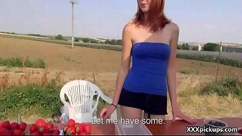 Public Pickups - Teen European Slut Fuck For Money In The Street 23