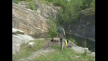 ultra-kinky tart pounds a stranger at the fishing lake