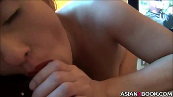 Asian babe likes to give rough head