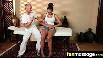 Teen massage gives stud happy ending 25