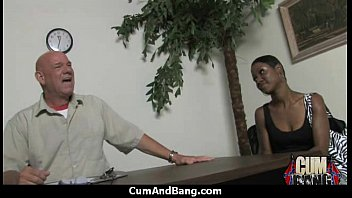 Crazy Group Interracial Blowjob Wow 25