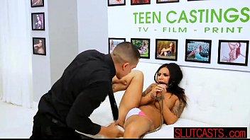 youthful fantastic latina female demonstrating off.