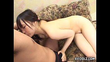japanese cuttie has a doggie pummel with her boy