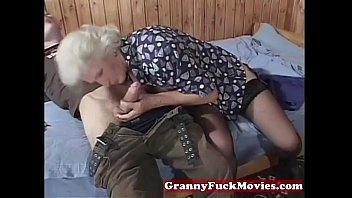 granny impatient for junior rock-hard-ons