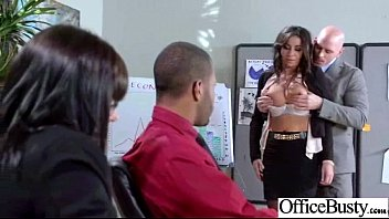 Superb Woker Girl (stephani moretti) With Big Tits Get Hard Sex In Office clip-30