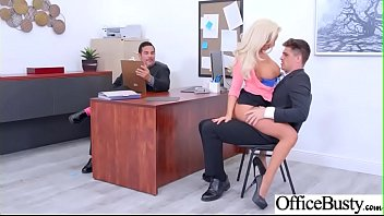 (Olivia Fox) Big Tits Horny Office Girl Get Nailed Hardcore vid-20