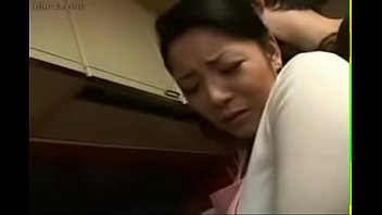 supah-hot japanese japanese mommy nails her stepson in kitchen