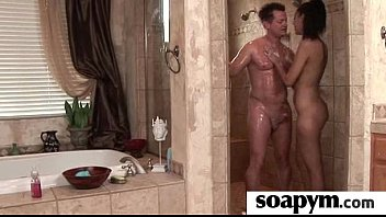 Soapy Massage and Shower Blowjob 14