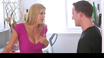 Alexis Fawx babe Big Tit Milf Horny For Step-Son