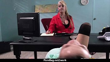 thick hooters hotty plows her coworker in their.