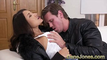 Dane Jones Public blowjob and passionate fuck for big tits Latina
