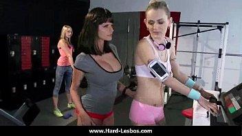 10-Nasty babes with big tits enjoy lesbian hardcore sex