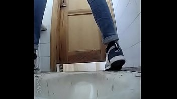 Hidden cam in school toilet pissing girl