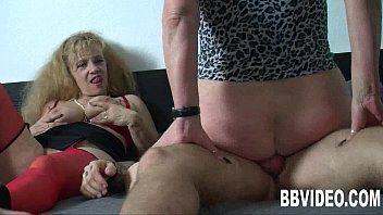buxom german mature tramps sharing spunk-shotgun