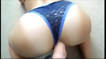 wwwadddictedpussycom - ultra-cute arse with underpants gets her.