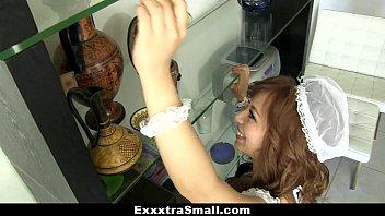 ExxxtraSmall - Extra Petite Maid Hardcore Fucked
