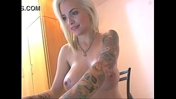 Busty Blonde Teases on Cam with slick tits -tinycam.org