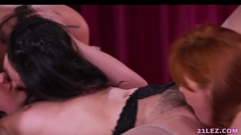 horny lezzy three-way with cent pax karlee grey.