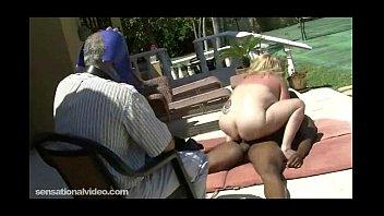 mature huge wifey gets plumbed by dark-hued bull.