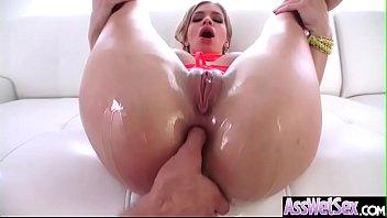 (Bibi Noel) Big Butt Girl Love Deep Anal Sex vid-12