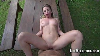 Vera Wonder - Lustful Sex Outdoors (POV)