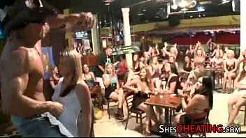 Party Girls Enjoy Male-Stripper
