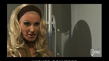 Curvy blonde MILF Brittany Andrews fucks her veterinarian