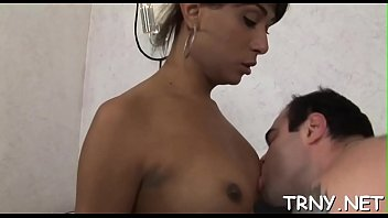lustful transsexual bi-atch is exhilarated to conquer a.
