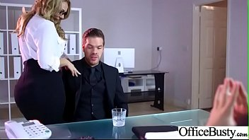 (Stacey Saran) Busty Slut Girl Get Banged Hardcore In Office clip-29