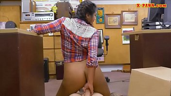 cowgirl rectal tucked by pawnshop holder