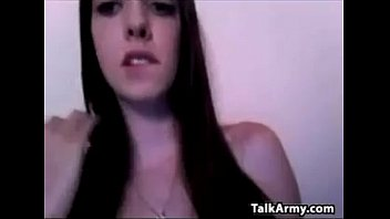 Pretty Cam Girl Shows Off Her Boobs