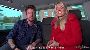 takevan ash-blonde sell her chastity on the street.