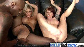 Interracial Hard Sex WIth Big Black Dick In Slut Milf (klarisa monroe) clip-24