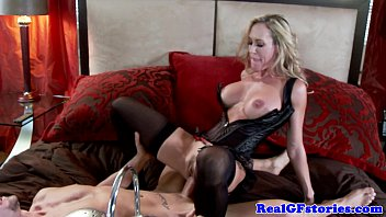 enormous-titted towheaded cougar housewife porked stiff