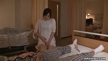 mischievous japanese nurse is toyed to numerous climaxes.