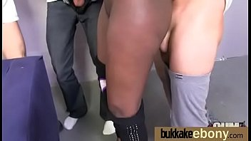 Busty black babe bubble bath group cocksuck 22