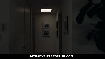 mybabysittersclub - small sitter pacified by a meaty.