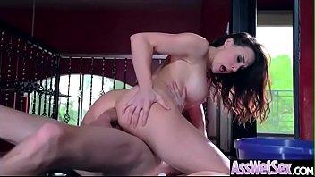 Deep Anal Hard Bang With Big Oiled Butt Horny Sluty Girl (Chanel Preston) clip-16