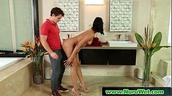 Blonde Babe gives Nuru Massage 19