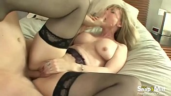 Blonde Milf Like a Cowgirl