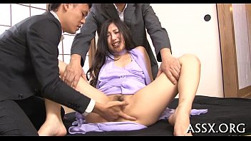 Wet oriental oral pleasure after hot anal