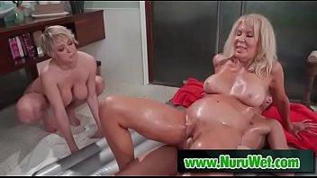 lubricious nuru rubdown ejaculation with justin hunt amp_.