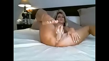 MILF plays with dildo on webcam - freebustymilf.com