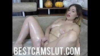 Curvy babe masturbates on cam - bestcamslut.com